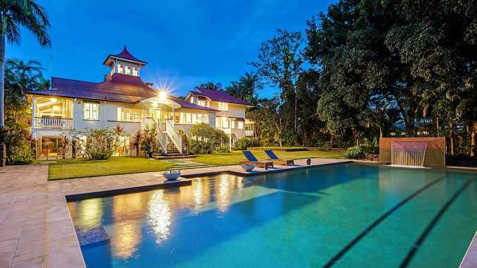STUNNING: Buderim House, a stunning heritage-listed Queenslander estate, is going to auction.