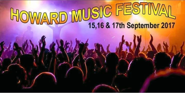 Poster for the Howard Music Festival 2017.