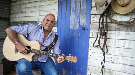 MUSIC FEST: James Blundell was set to perform at the Music Festival in Howard.