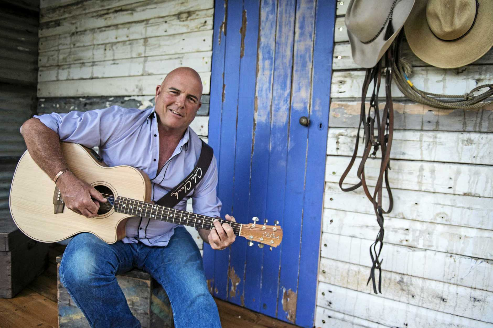 MUSIC FEST: James Blundell will be one of many artists to feature at Whitsunday SESsions.