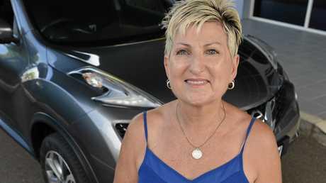 UBER driver Heather Marc. Photo Patrick Woods / Sunshine Coast Daily