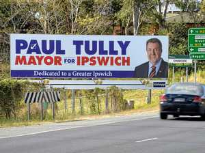 Candidate tight-lipped on who paid for billboard signs