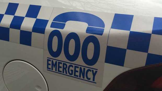 A cane truck has rolled over blocking a lane of traffic in Woongoolba, on the northern fringe of the Gold Coast.