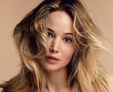 Jennifer Lawrence for the September Vogue cover. Picture: Inez and Vinoodh / Vogue.