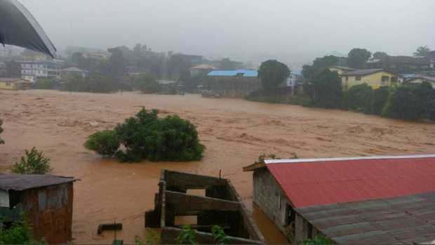 Hundreds are feared dead after a mudslide near Freetown, Sierra Leone on 14 August.
