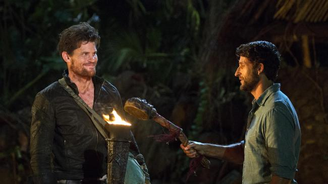 Mark Wales is the latest to exit Australian Survivor.