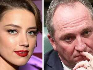 Amber Heard hilariously trolls Barnaby Joyce online