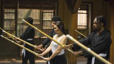 Colleen's dojo as seen in Iron Fist.