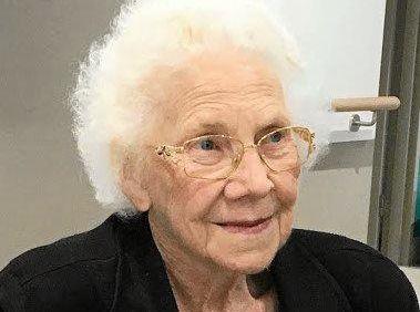 SADLY MISSED: Evelyn Robertson.