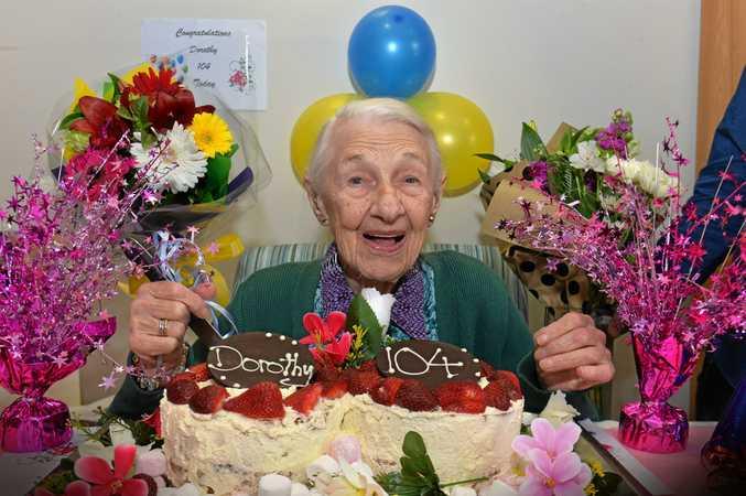 Dorothy Fryar is celebrating her birthday turning 104 years old.