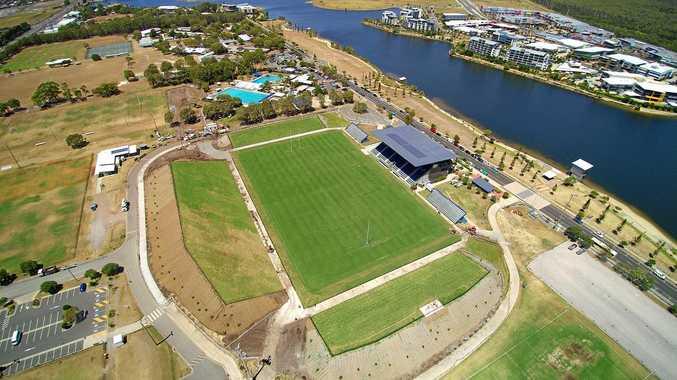 REVAMPED: Sunshine Coast Stadium.