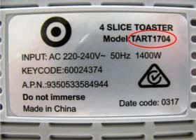 RECALL: This Target toaster has been recalled nationally.