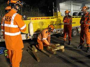 SES Lismore Unit training