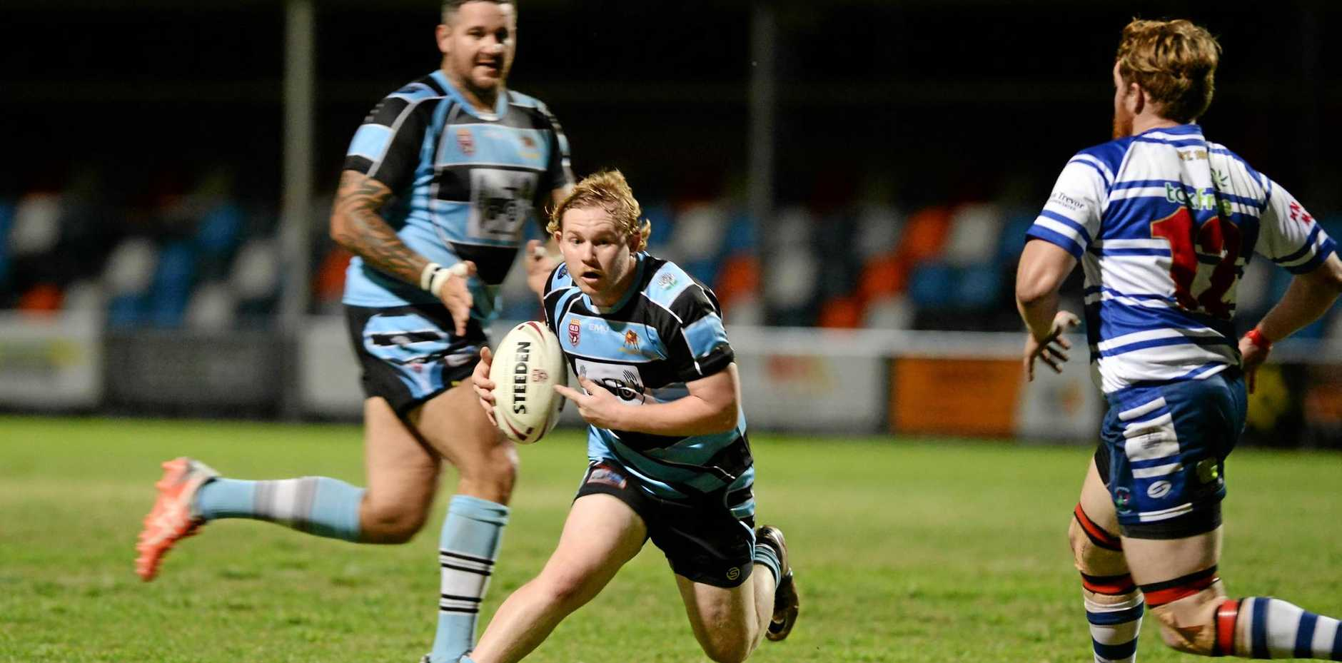Rugby League: Chargers' Dean Allen.