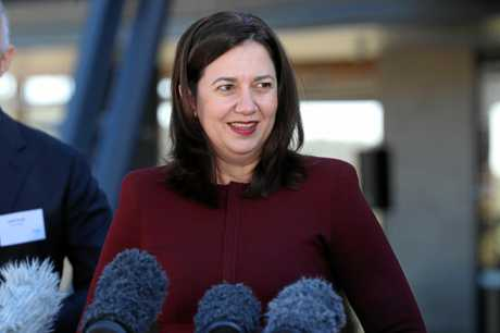 Can the budget help Premier Annastacia Palaszczuk's fortunes in regional Queensland?  Pic Mark Calleja