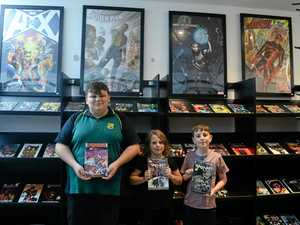 Comic books and candy come to Bundaberg