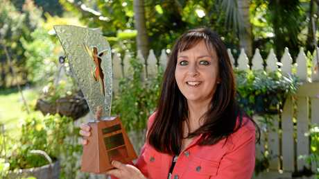 Anne Gibson was named the Sunshine Coast Business Women's Network's Sustainable Business Woman of the Year.