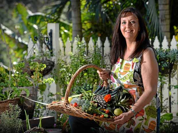 MICRO GARDENER: Anne Gibson is helping transform people's lives by teaching them how to grow their own food in tiny spaces.