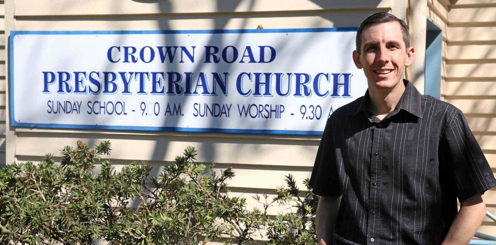 FREE LECTURE: Gympie Presbyterian Church minister Reverend Daniel Saunders.