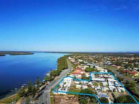 The Military Jetty Caravan Park is up for sale, boasting a 7,117sqm land area.