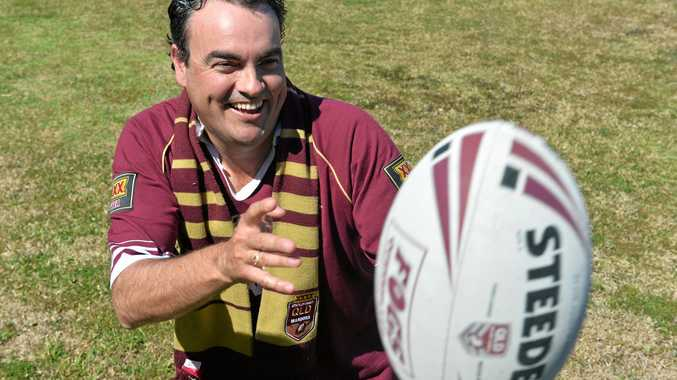 Whitsunday MP Jason Costigan is licking his lips in anticipation of State of Origin being played in northern Queensland.