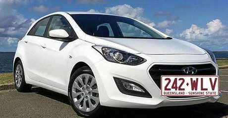 Kaye Marriott is missing from Mountain Creek. Pictured is a car similar to the white 2016 Hyundai i30 hatchback she was last seen driving.