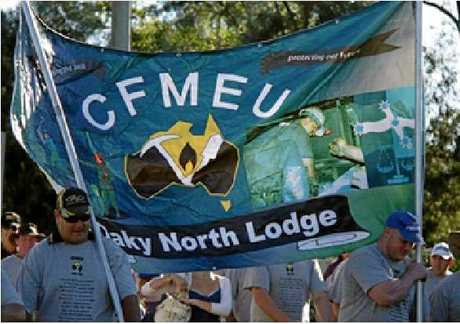 Protests at Oaky North have resulted in workers being locked out of the Glencore mine.