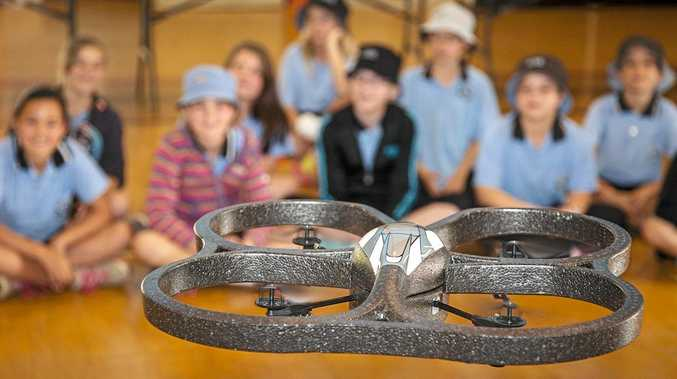 TECH savvy Coast students will learn the ins-and-outs of drones tomorrow as part of an annual celebration of science and technology.