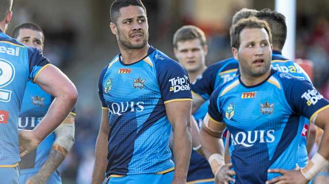 No show ... Jarryd Hayne is likely to be ruled out for tomorrow night's clash.