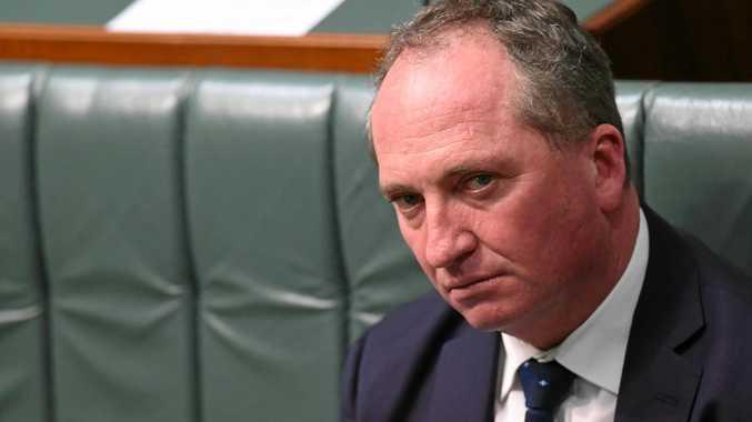 Australian Deputy Prime Minister Barnaby Joyce.
