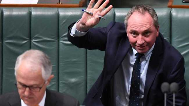 Barnaby Joyce has confirmed he is no longer a New Zealand citizen. Picture: AAPSource:AAP