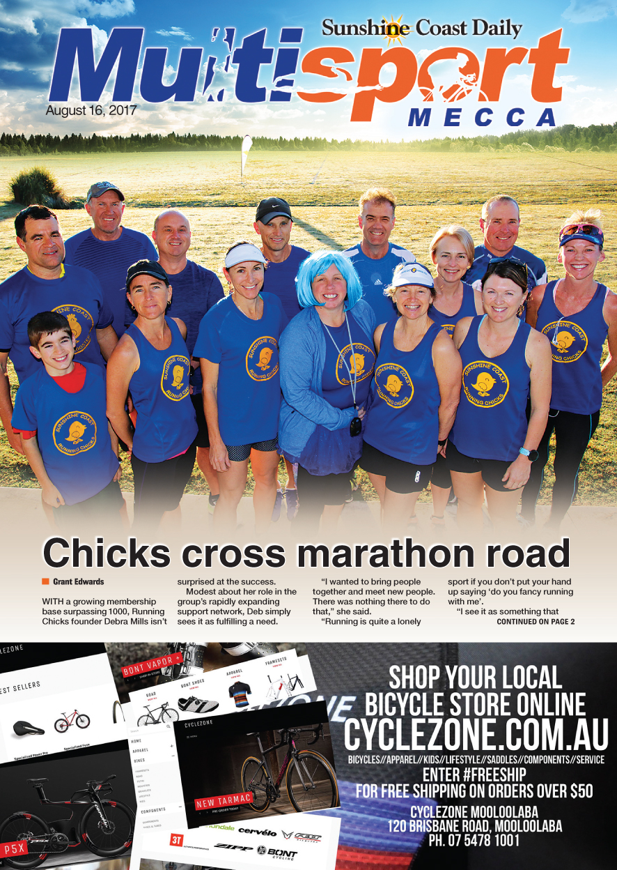 The August 16 edition of Sunshine Coast Multisport Mecca is available to download now.