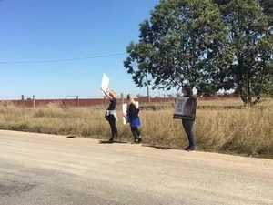 WATCH: Animal activists protest at Swickers