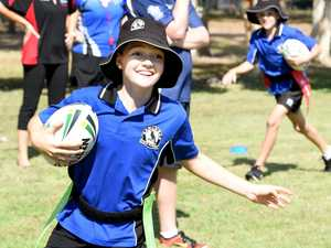 Macquarie Sports rugby league clinic, Hervey Bay