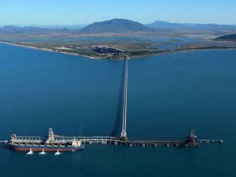 The Port of Abbot Point in Central Queensland, where Adani will export the coal extracted at its Carmichael Coal project.