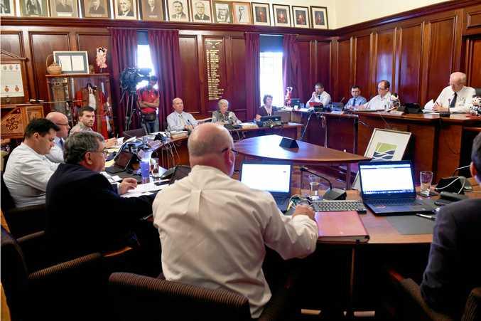 Fraser Coast Regional Council meeting, Maryborough Chambers -