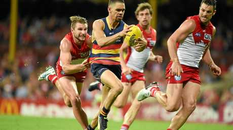 Charlie Cameron in action for the Crows.