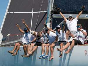 Reignition, skippered by Charles Wallis, in action on day four of Airlie Beach Race Week.