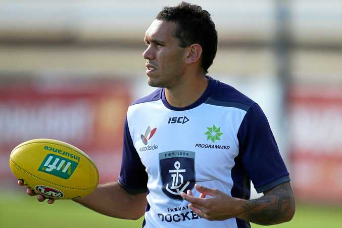 Harley Bennell is set for his first game for the Dockers.