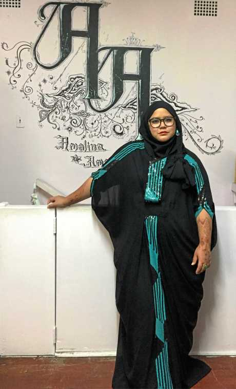 Amalina Aman's designs have appeared around the globe, and her latest line will be showcased in the Sunshine Coast Fashion Festival.