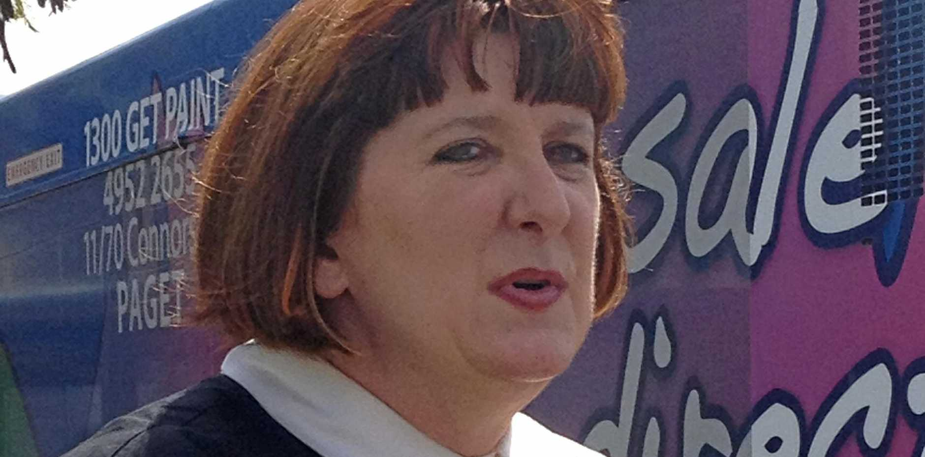 CONCERNS: Queensland Nurses Union secretary Beth Mohle hopes Gympie's Blue Care facilities don't make the same changes as other region's have.