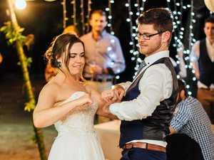 Memorable island wedding