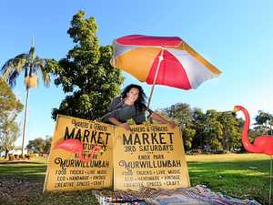 Peita Gardiman is excited about her new vintage market opening on Saturday.