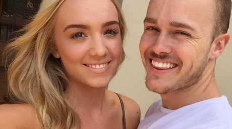 Mason Jago and his girlfriend Tayla Lange.