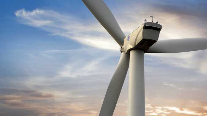 WIND POWER: Australia's largest wind farm is set to be built in the Darling Downs north of Dalby by AGL and GE.