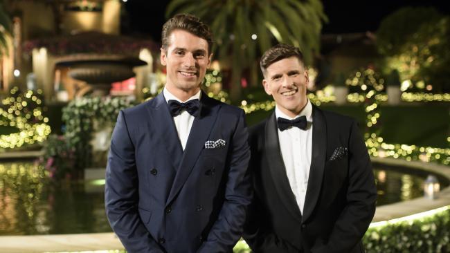 Matty Johnson (left) and Osher Gunsberg.