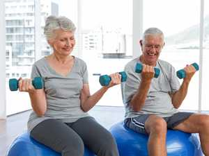 Seniors exercise: How to perform a squat