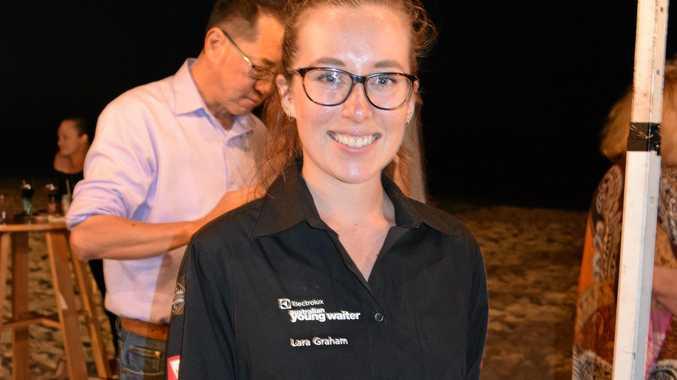 Wasabi waiter and waiter of the year finalist Lara Graham, 22.