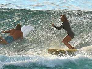 Grab your board and head out for a surf