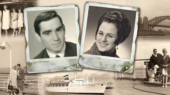 MEANT TO BE: Helmuth Maciejczyk and Gertrud Neumahr, now Mr and Mrs Macey, celebrate 50 years together since arriving in Australia as German immigrants.